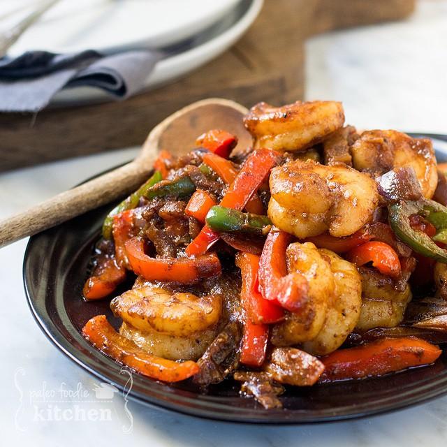 Spicy Sizzling Shrimp