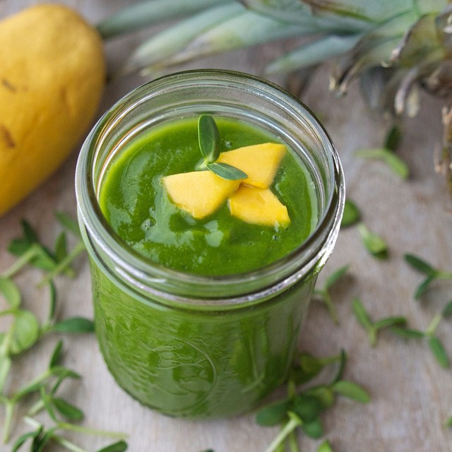 Sunshine In A Cup (green Smoothie)