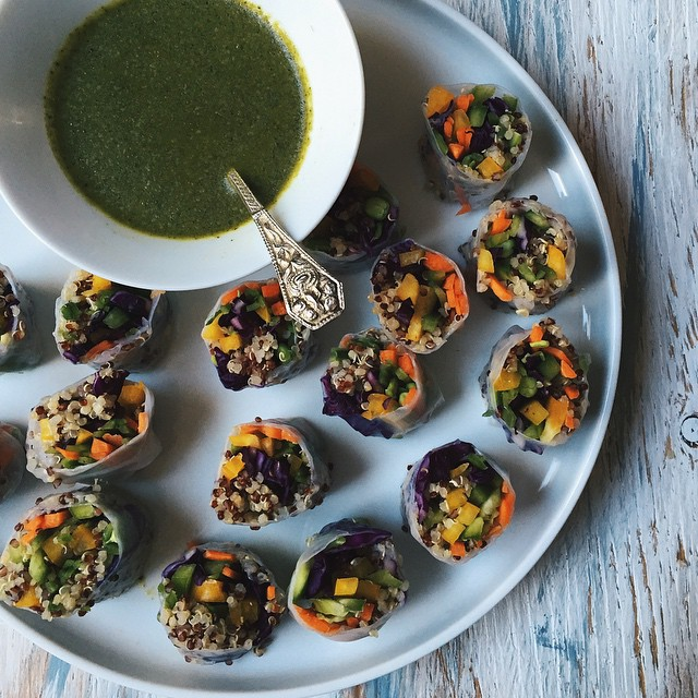 Sweet And Spicy Green Chutney
