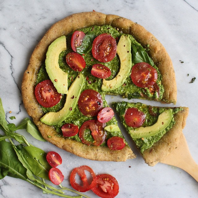 Sweet And Savory Vegan Pizza