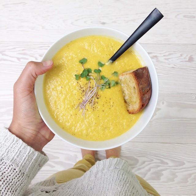 Pumpkin & Leek Soup