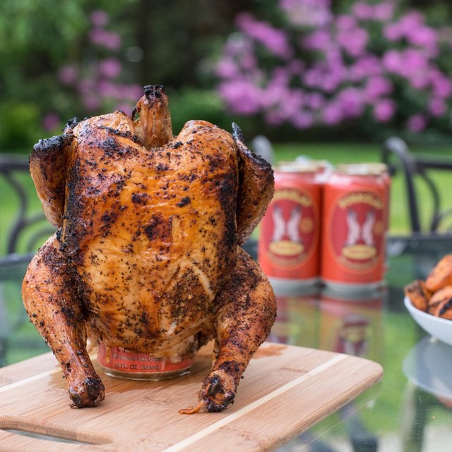Beer Can Grilled Chicken