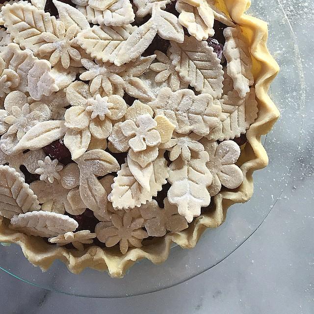 Leaf Crust Pie