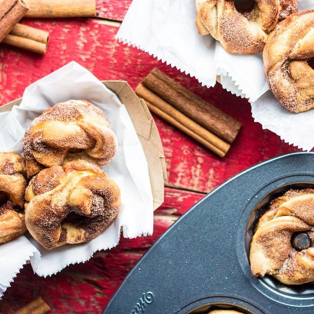 Babka Cinnamon Twist Doughnuts