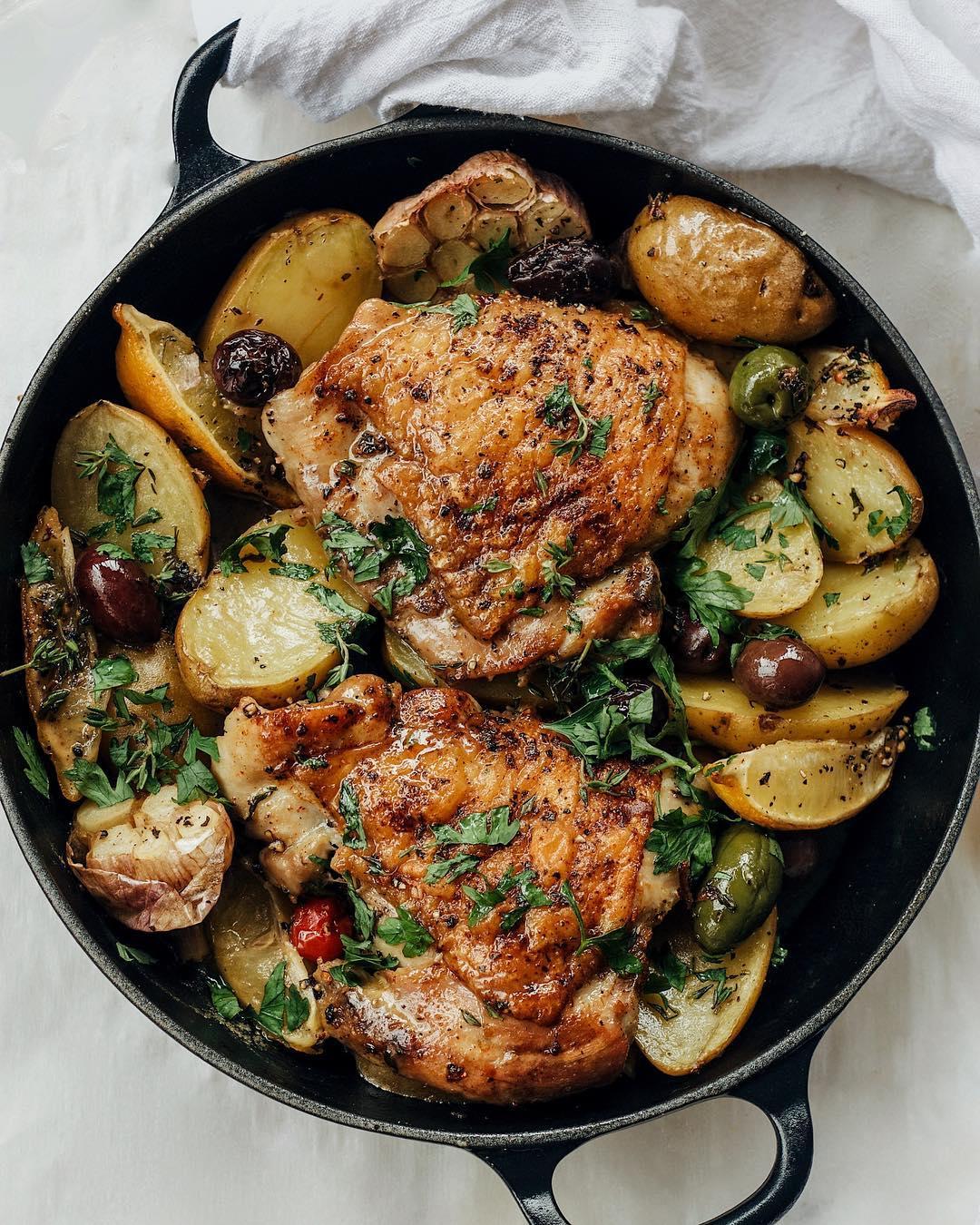 White Wine & Herb Roasted Chicken