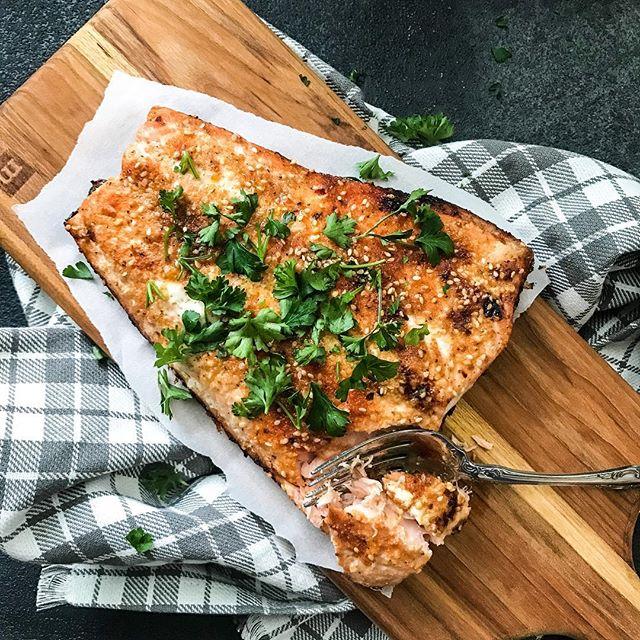 Quick Seafood-Seasoned Salmon