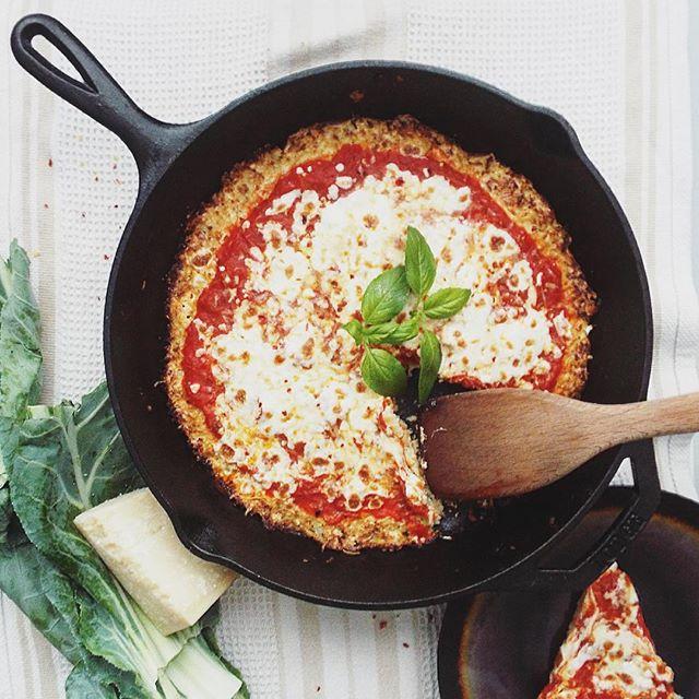 Mozzarella Cauliflower Pizza