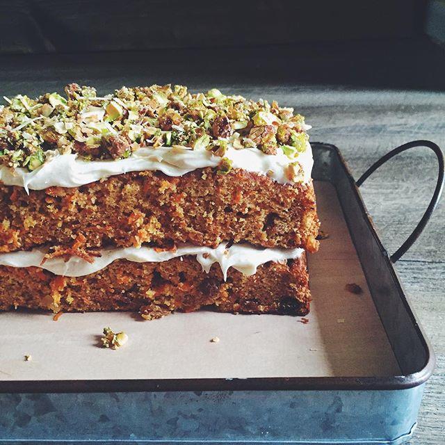 Chai Carrot Cake