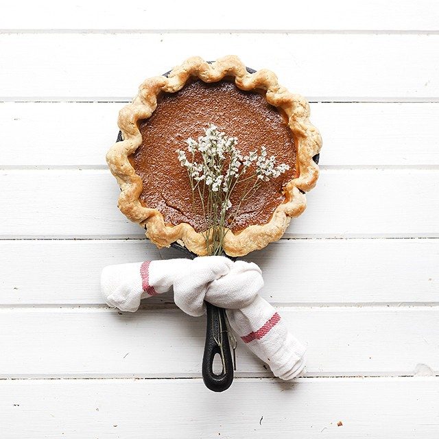Butterscotch Pumpkin Pie With Spices
