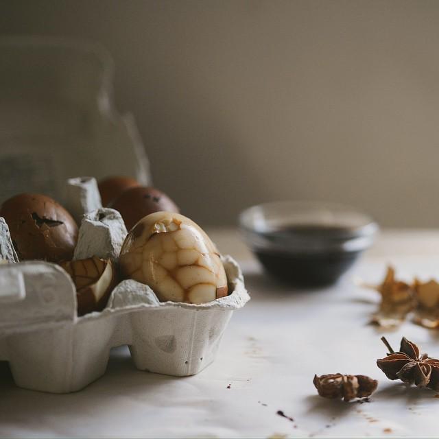 Chinese Tea Eggs (cha Ye Dan)