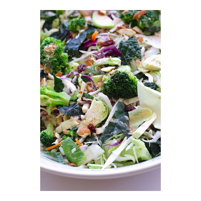 Cruciferous Vegetable Detox Salad