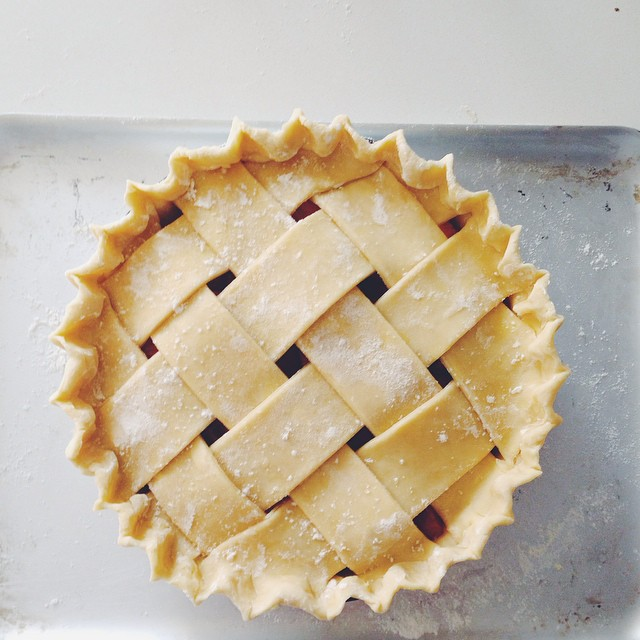 Strawberry And Ginger Pie Crust