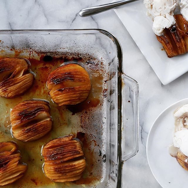 Buttery Hasselback Apples