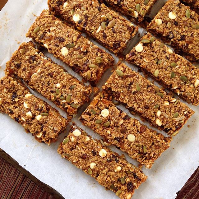 Have you ever tried making granola bars at home  It's so easy and I love that you can fill them with…