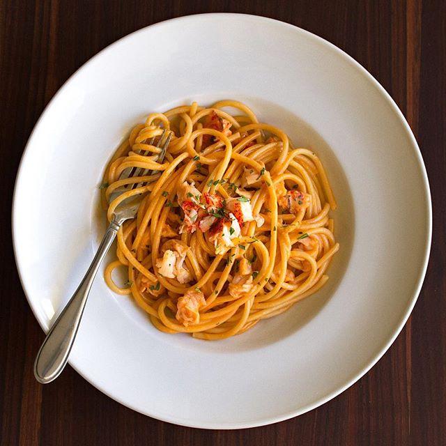 Creamy Lobster Bucatini