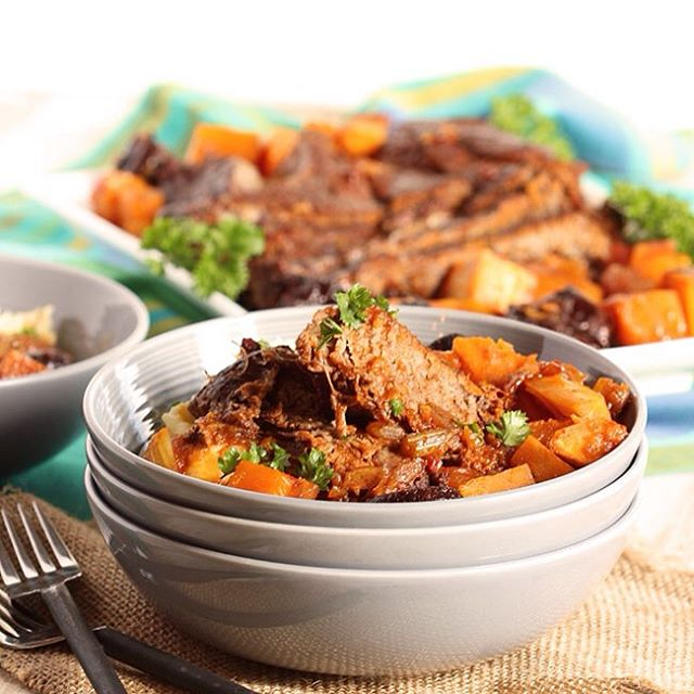 This Pot Roast with Butternut Squash and Dried Plums is the ultimate comfort food for fall. Slow…