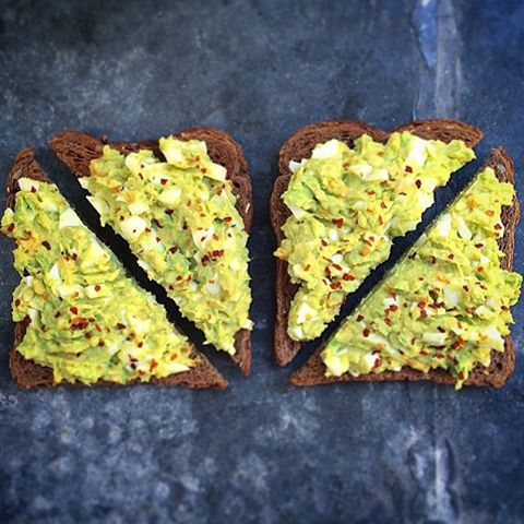 Avocado and Egg Salad Sandwich (No Mayo)