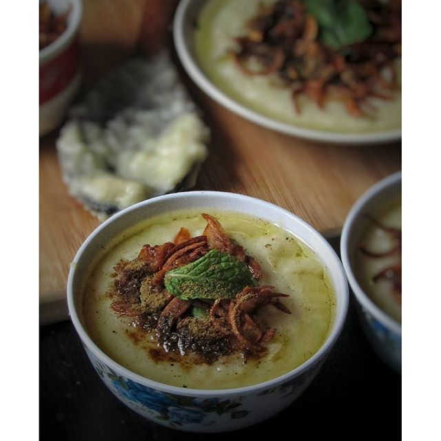 Rice Lentil Morning Porridge