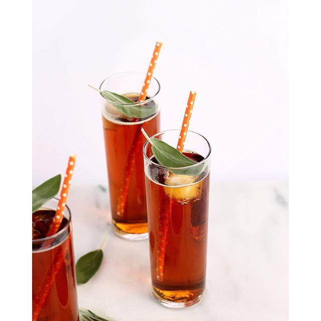 Pumpkin Sage Pimm's Cup