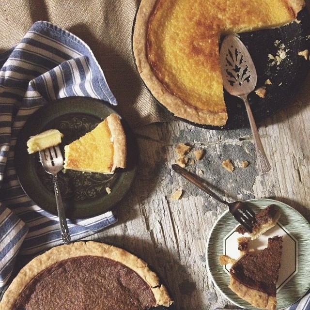 Buttermilk & Chocolate Pie