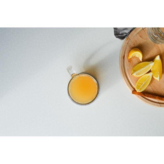 Orange And Apple Peel Tea