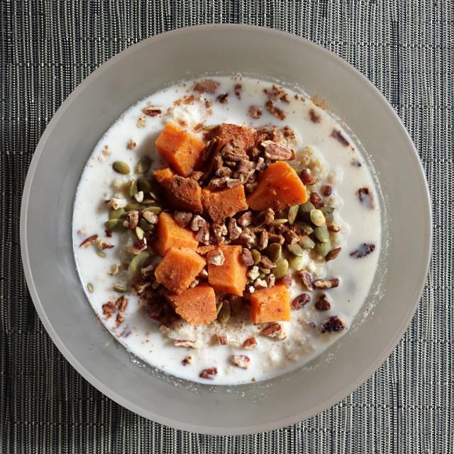 Cinnamon Millet Porridge