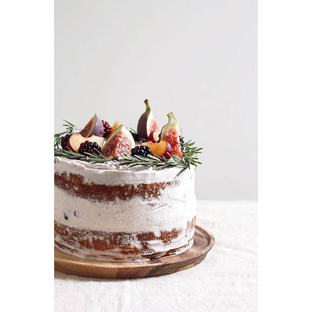 Rosemary Chocolate Cake