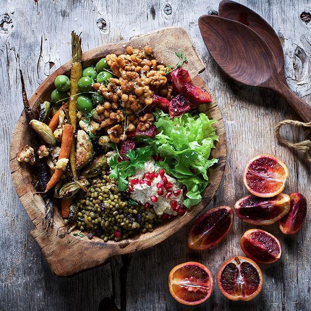Middle Eastern Veggie Bowl