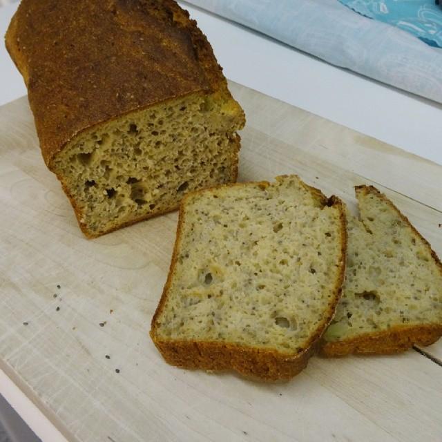 Spelt Potato Chia Bread