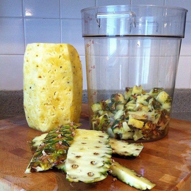 pineapple peelings to vinegar essay Fulltext - study of pineapple peelings processing into vinegar by biotechnology.
