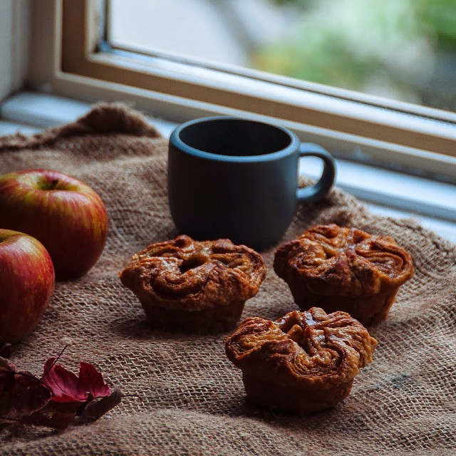 Apple, Cinnamon And Nutmeg Kouign Amann