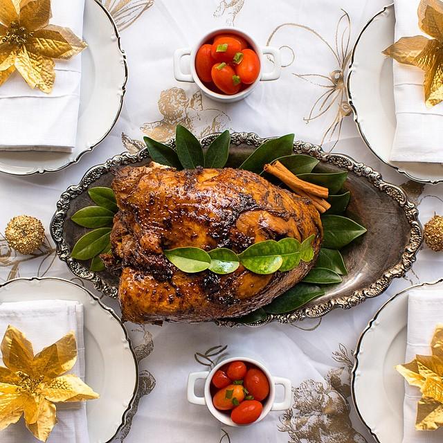 Molasses-soy Turkey Breast