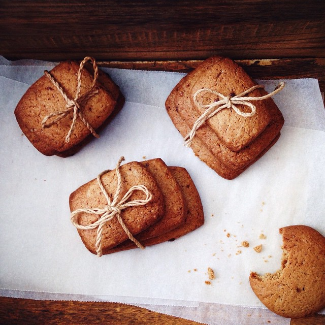 Buckwheat Shortbread