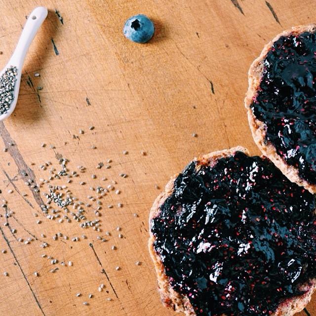 Quick Blueberry Chia Jam