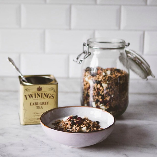 Early Grey Tea & White Chocolate Granola