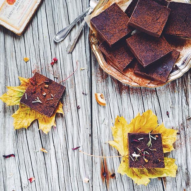 Cardamom Black Bean Brownies