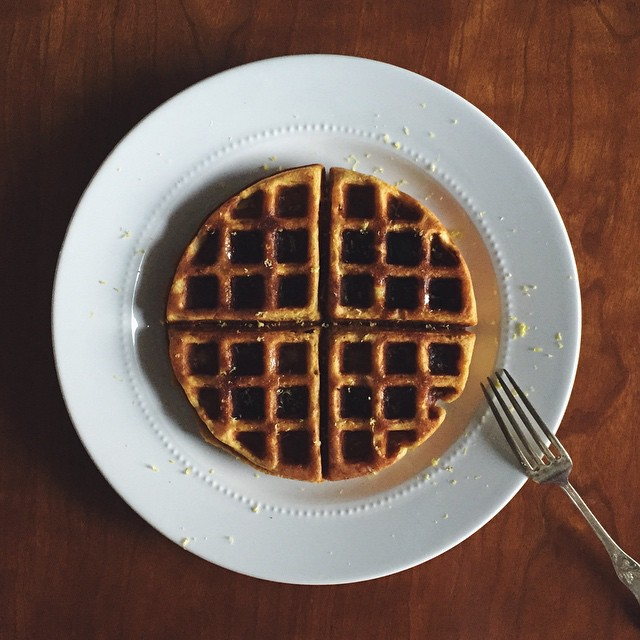 Ginger & Squash Buttermilk Waffles