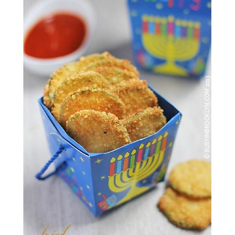 I can't believe that Chanukah is just a few weeks away! These addictive fried zucchini Parmesan…