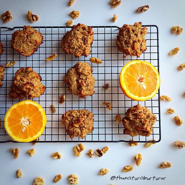 Orange Walnut Scones (gluten-free)