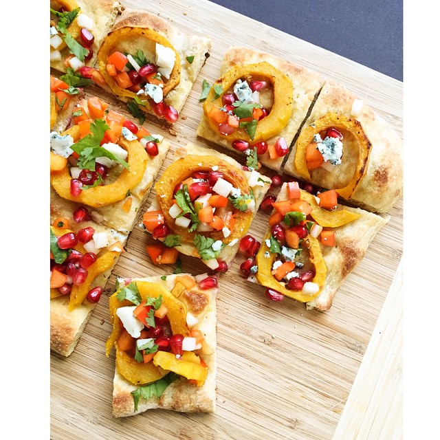 Blue Cheese & Delicata Squash Flatbread