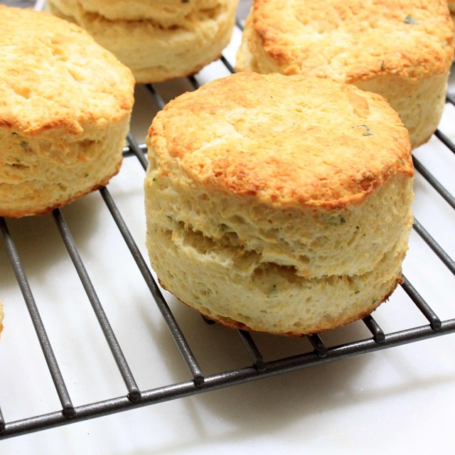 White Cheddar & Sage Buttermilk Biscuits