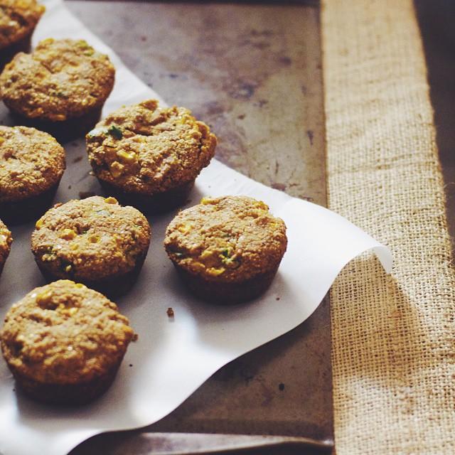 Cajun Spice & Tempeh Cornbread Muffins