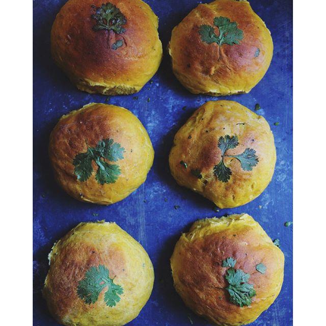 Peppery-spiced Pumpkin Dinner Rolls