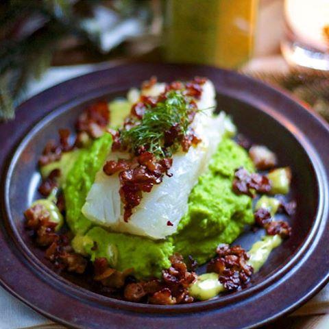 Lutefisk With Mushy Peas