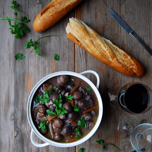 Coq Au Vin With Chicken & Wine