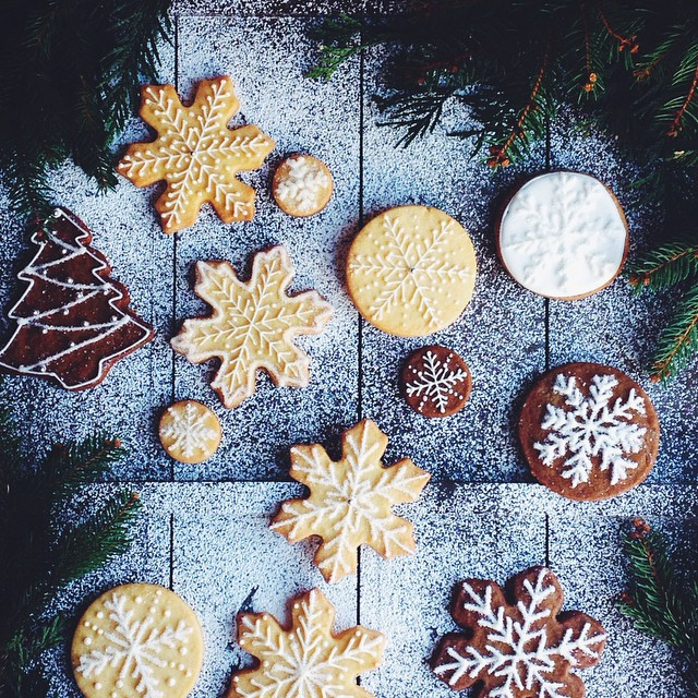 Holiday Gingerbread And Sugar Cookies