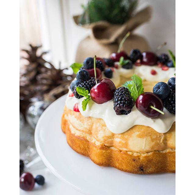 Christmas Cheesecake.Christmas Cheesecake Wreath Recipe The Feedfeed