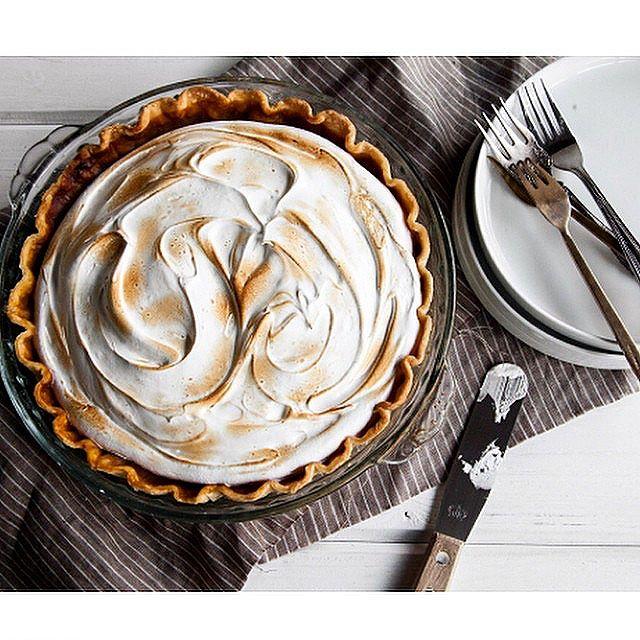 Maple And Sweet Potato Meringue Pie