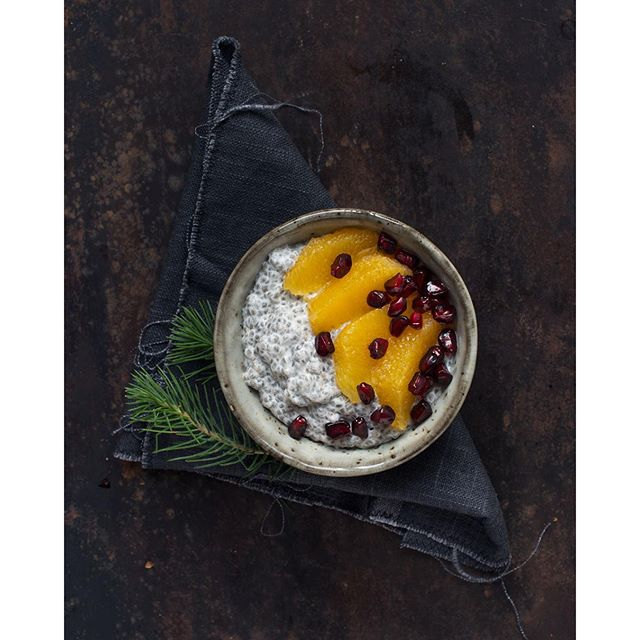 Christmas Chia Porridge