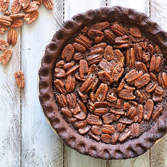 Chocolate Lovers Pecan Pie